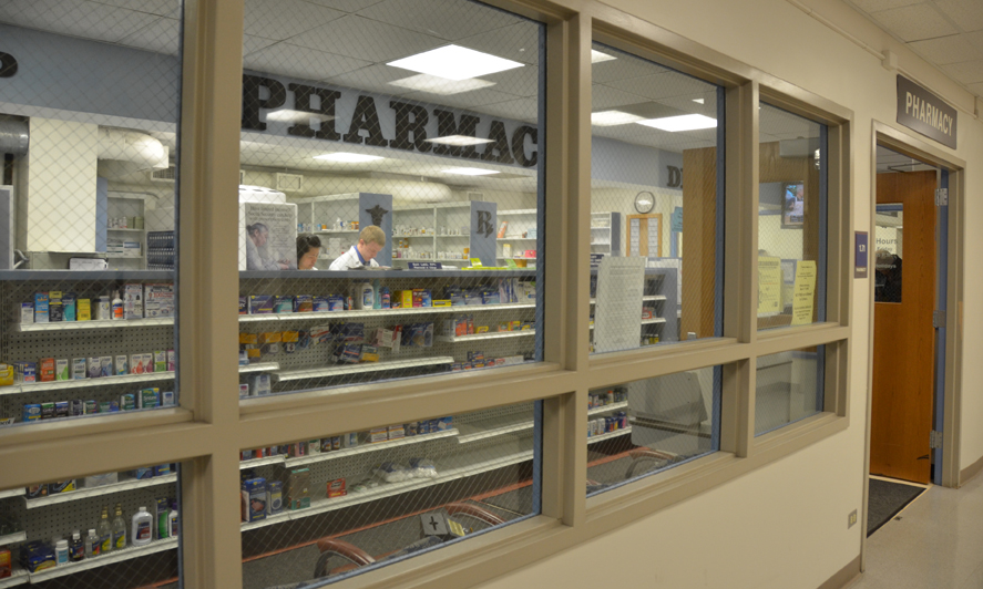 Pharmacy in the IEEI building